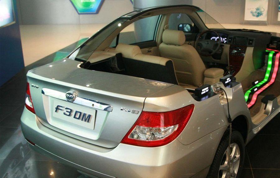 图解比亚迪F3DM混合动力车高清图片